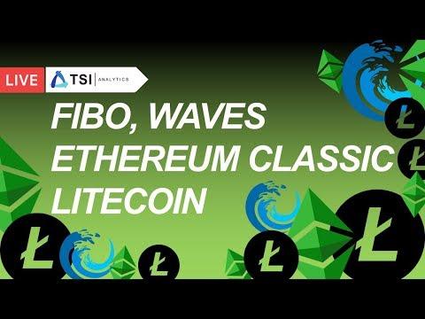 FIBO, Ethereum Classic, LTC, ETC, Waves. Вводная лекция | Прогноз цены на Биткоин, Криптовалюты