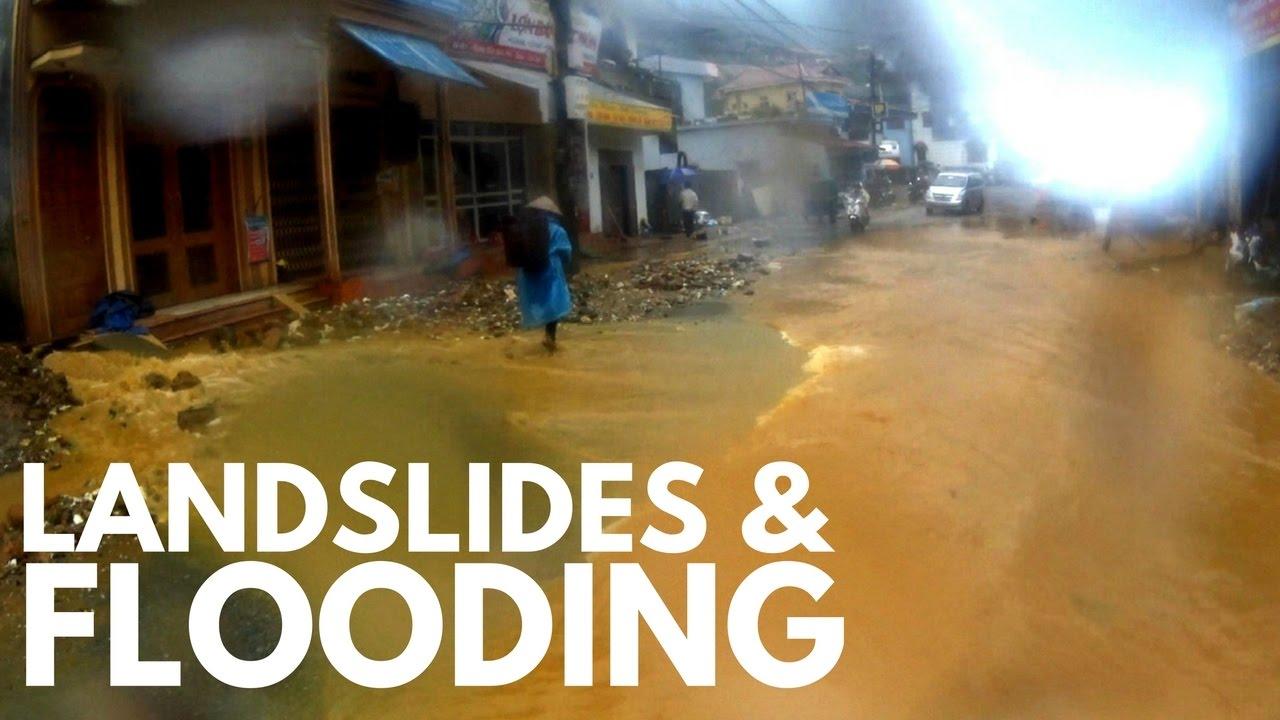 LANDSLIDES & FLOODING, MOTORBIKING VIETNAM