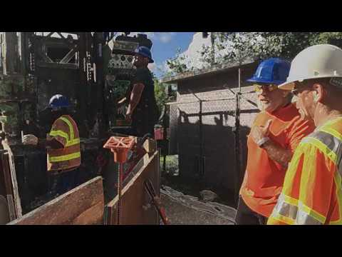 GWA Well D-17A Borehole Inspection Downhole Video
