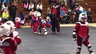 World Martial Arts Center JR. Red Belt Sparing Test