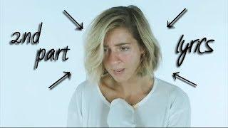Gabbie Hanna - ROAST YOURSELF EVEN HARDER CHALLENGE (lyrics) part 2
