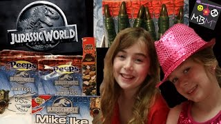 Jurassic World Movie | Dinosaur Candy and Toys
