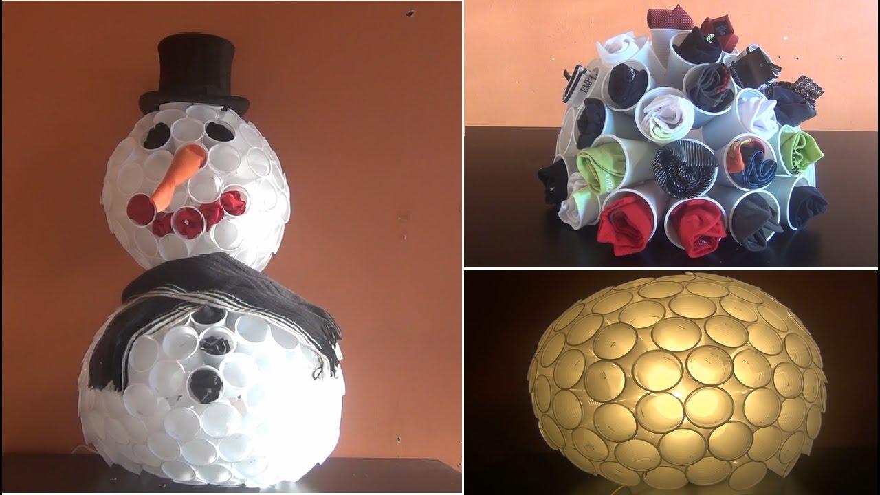 Charmant DIY   Bricolage à Faire à La Maison #31 (le Bonhomme De Neige GEANT)    YouTube