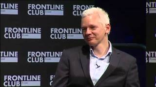 Julian Assange in conversation with Slavoj Zizek moderated by Democracy Now