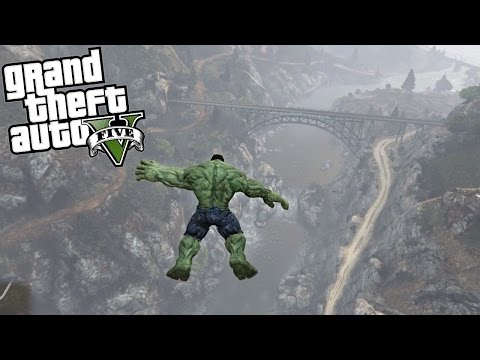 GTA 5 Mods - Hulk vs Gravity