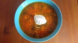 Томатный суп с рисом и курочкой: рецепт