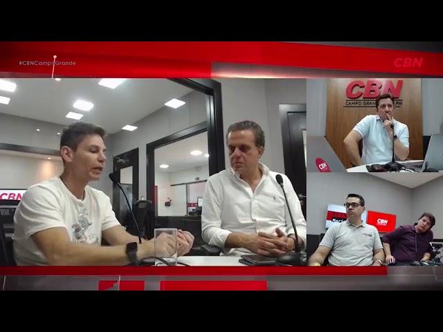Entrevista CBN Campo Grande: Márcio Atalla, preparador físico