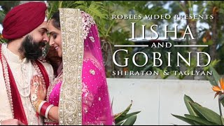 Iisha Sethi & Gobind Anand - Cinematic Sangeet & Wedding Day Highlights (Punjabi Sikh)