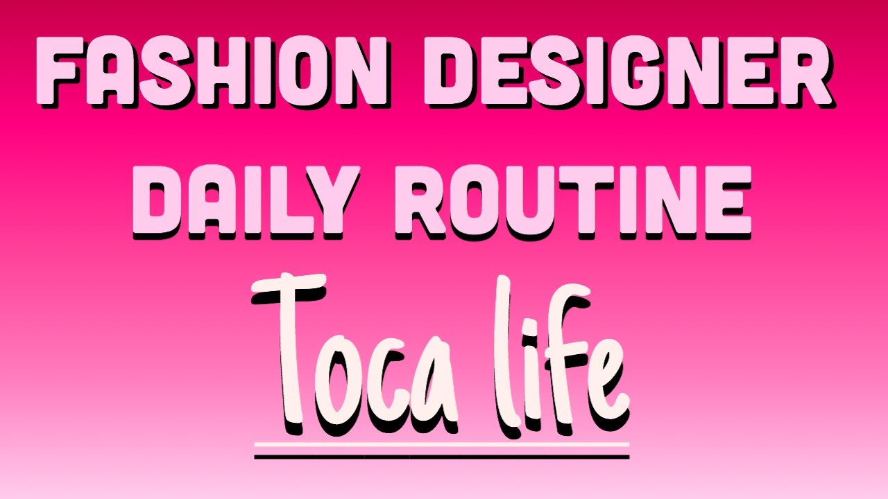 A Day In Fashion Designer S Life Tocaworld Youtube