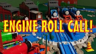TOMICA Thomas & Friends Music Video: Engine Roll Call! (with Sing-A-Long Lyrics)