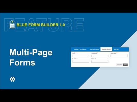Multi Page Form   Blue Form Builder   Magento 2 Form Builder Extension