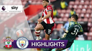 Adams trifft per Traumtor | FC Southampton - Manchester City 1:0 | Highlights - Premier League