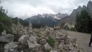 Discovering Alps - Rock balancing GOPro 4K
