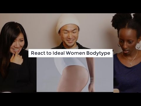 Japanese Canadian React Womens Ideal Body Types Throughout History By Buzzfeed