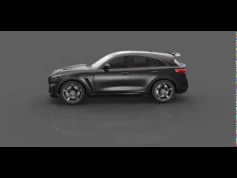 Крокодиловый интерьер для TOPCAR Mercedes Benz GLE Coupe 63 INFERNO