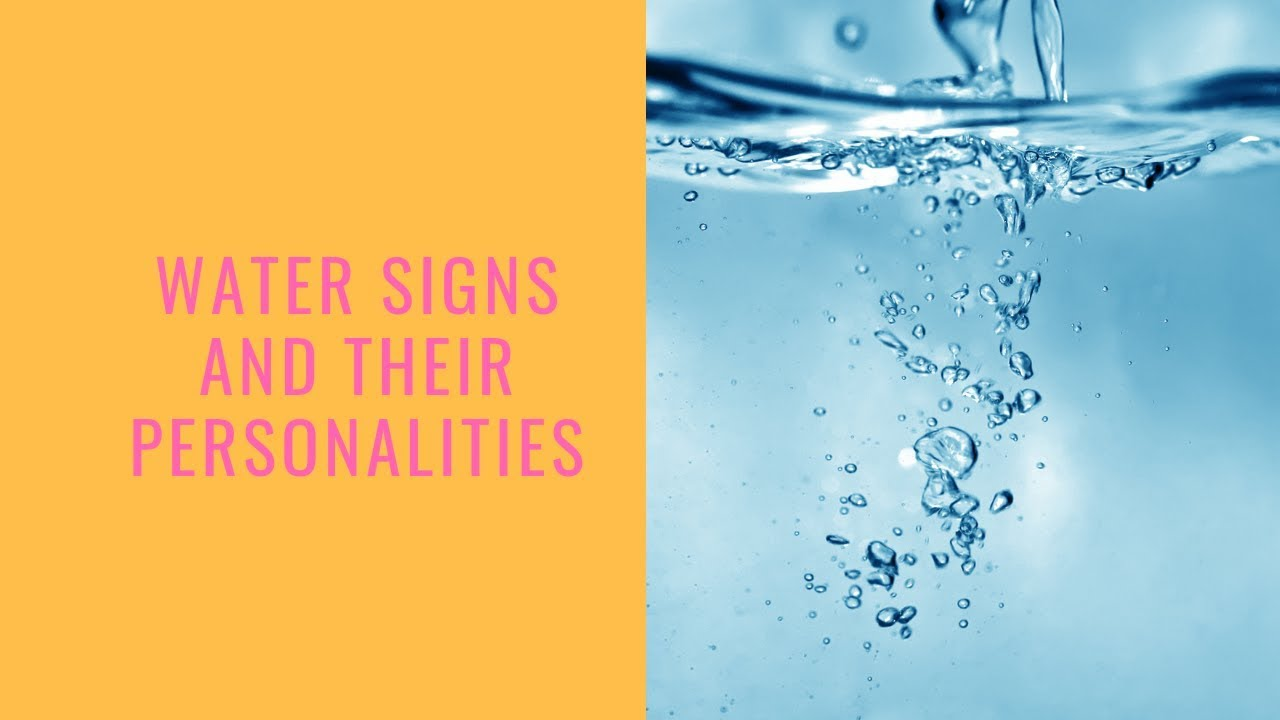 Water Signs: How The Water Element Influences Each Zodiac Sign
