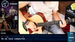 La Que Se Fue - ELEFANTE - Acustico Cover Guitarra Demo Christianvib