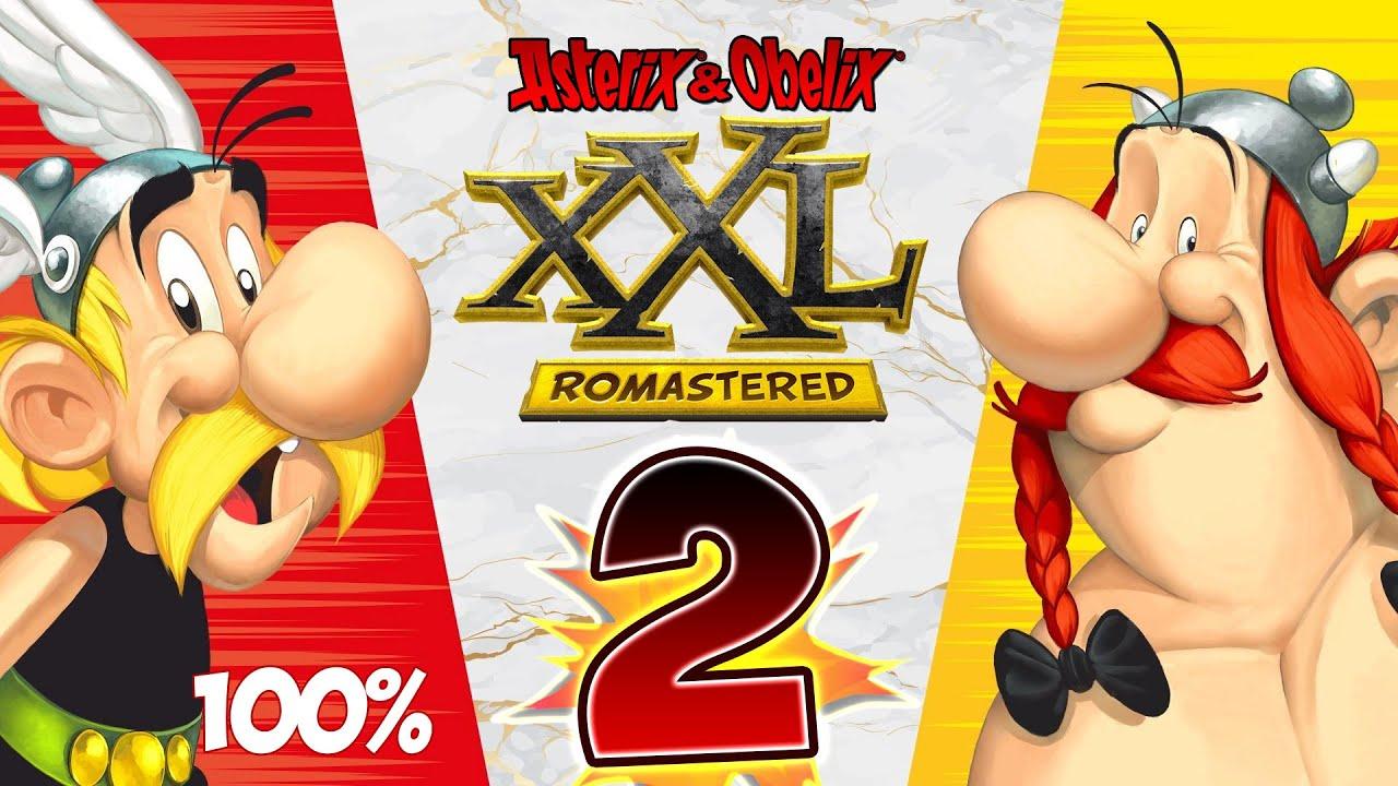 Download Asterix & Obelix XXL Romastered Walkthrough Part 2 (PS4) 100% - Normandy