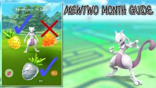 Guide For Mewtwo Month In Pokemon Go