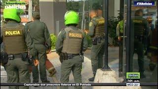 Emergencia al interior de los calabozos de la estación Los Gómez en Itagüí - Teleantioquia Noticias