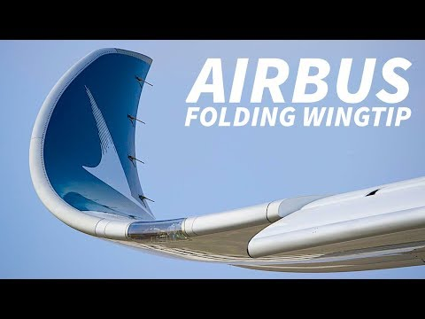 FOLDING WINGTIPS On AIRBUS AIRCRAFT?