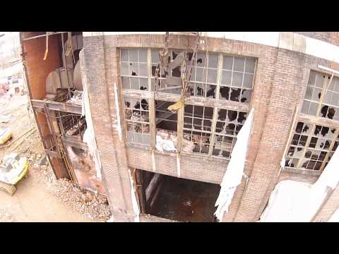 Old factory in hagerstown maryland