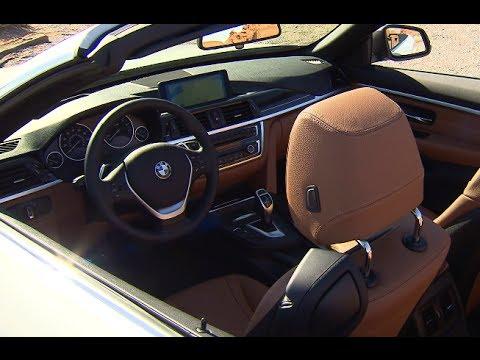 BMW 428I Convertible >> BMW 4 Series Convertible INTERIOR Price $50,000+ BMW 435i Convertible F33 CARJAM TV 2014 - YouTube