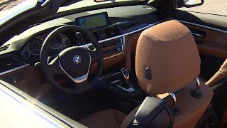 bmw 4 series convertible interior price 50 000 bmw 435i convertible f33 carjam tv 2014
