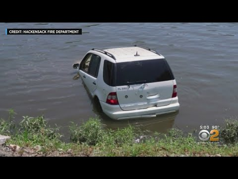The Paul Castronovo Show - New Jersey Driver Accidentally Charges Into The River