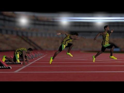 La technique du 100 mètres