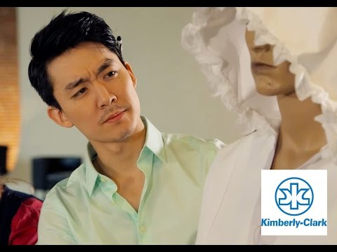 Dior C. Choi on Kimberly Clark Innovation Commercial