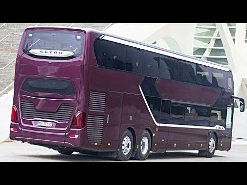 2019 SETRA TopClass S 531 DT – DOUBLE DECKER LUXURY BUS / (interior, exterior, and drive)