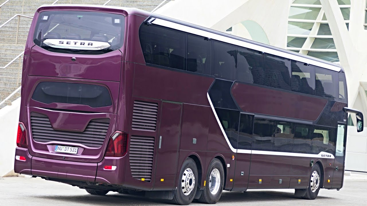 2020 Setra Topclass S 531 Dt Double Decker Luxury Bus Interior Exterior And Drive Youtube