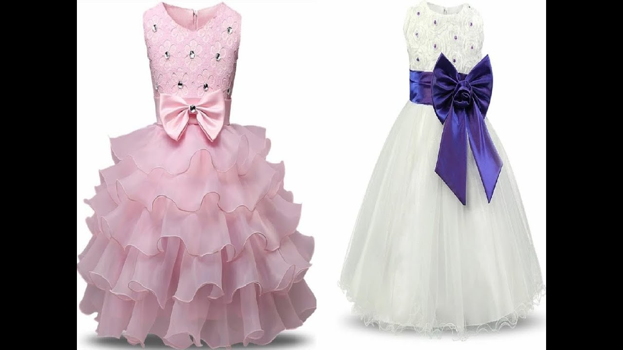 6ade55882a8dd Party Wear Fancy Dresses For Girls || Toddler fancy dress || Angels fancy  dress