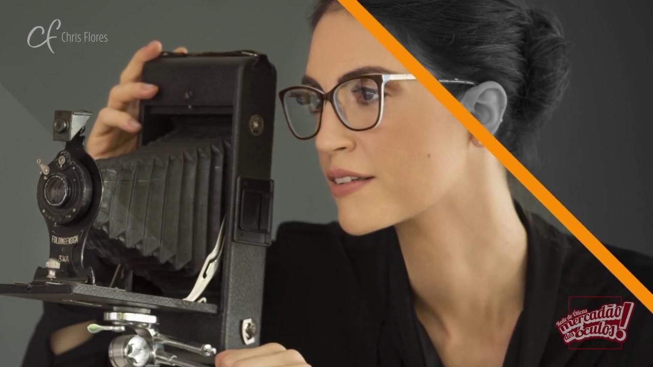 167c30004 Coleção Chris Flores 2017 - Mercadão dos Óculos