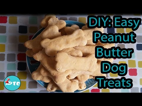 How To Make Easy Peanut Butter Dog Treats