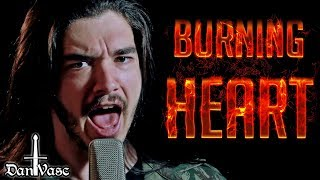 """Burning Heart"" Cover - SURVIVOR"