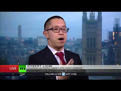 Robert  Liow, Student Activist, King's College London, on students compensation claim