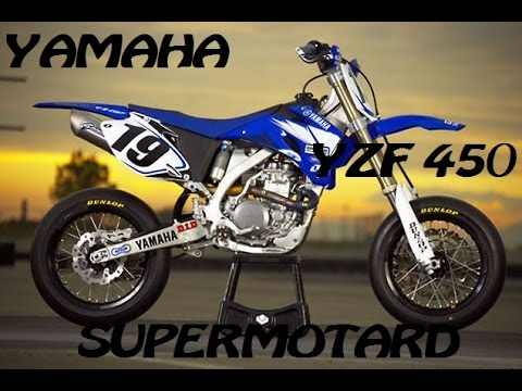 yamaha yzf 450 supermotard youtube. Black Bedroom Furniture Sets. Home Design Ideas