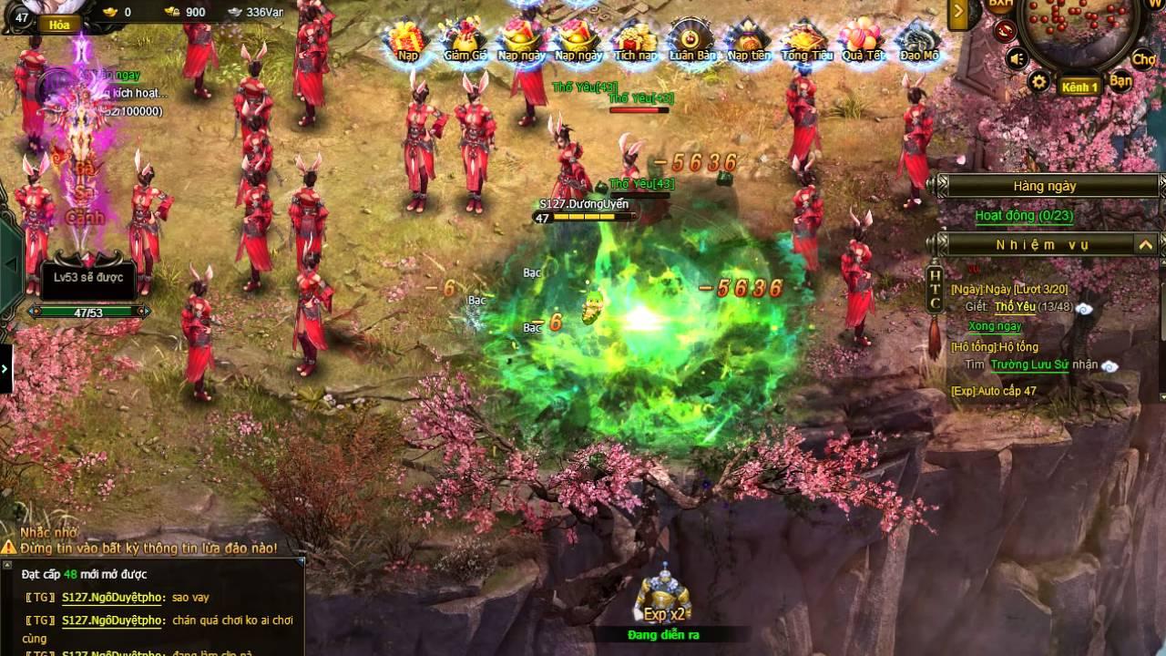 [ Game Hoa Thiên Cốt ] Trải Ngiệm Game Hoa Thiên Cốt PC