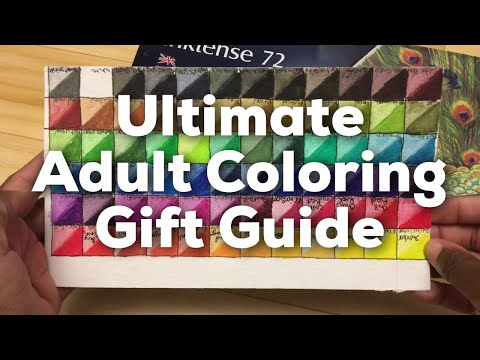 Ultimate Holiday Gift Guide for Adult Coloring and Colored Pencil Artists