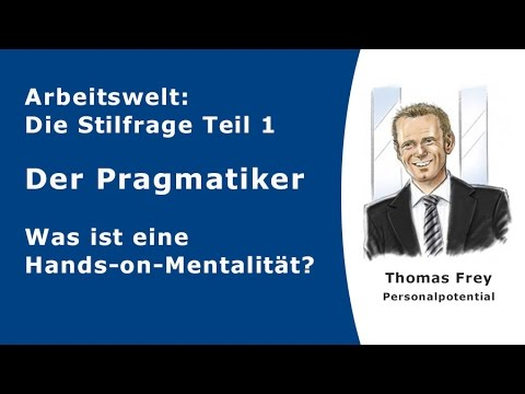 Was Ist Ein Pragmatiker