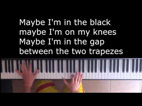 Every Teardrop is a Waterfall - Coldplay Piano Karaoke/Sing Along with lyrics