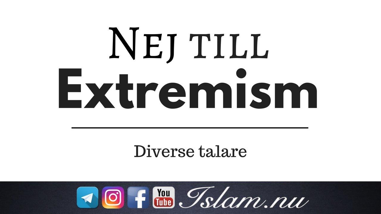 Nej till extremism! | 1min |