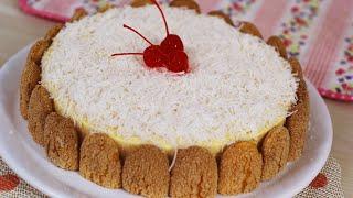 Torta Holandesa de Coco – Fácil e Gostosa