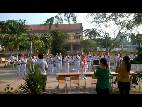 Trống kèn: Bài chào mừng số 1 - Đội nghi lễ huyện Cầu Kè - tỉnh Trà Vinh