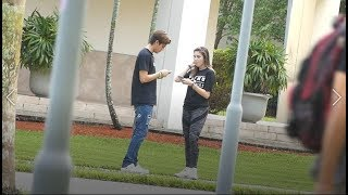 PICKING UP GIRLS WITH A PORNHUB T SHIRT!