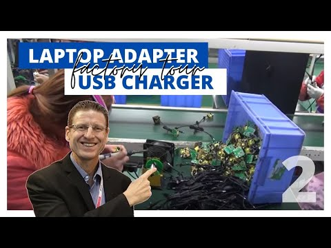 USB Charger Factory - Part 2 - The Detailed Assembly Process