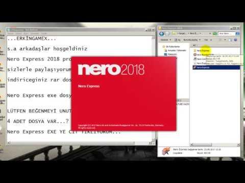 Nero Express 2018 KULANIMI  , Türkçe Anlatım  , LIFETIME KEY , FULL KEY , KEYGEN İNDİR , License Key