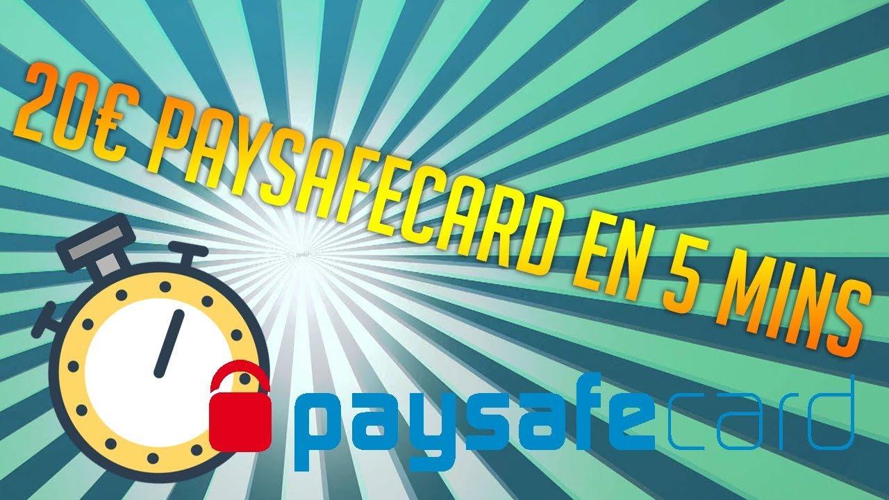 20€ Paysafecard